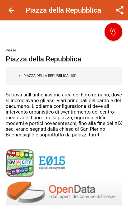 Comune Facile (Android) screenshot 1
